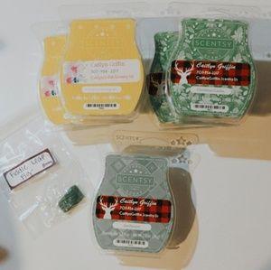 Coconut lemongrass, Vanilla mint, & Pine Scentsy